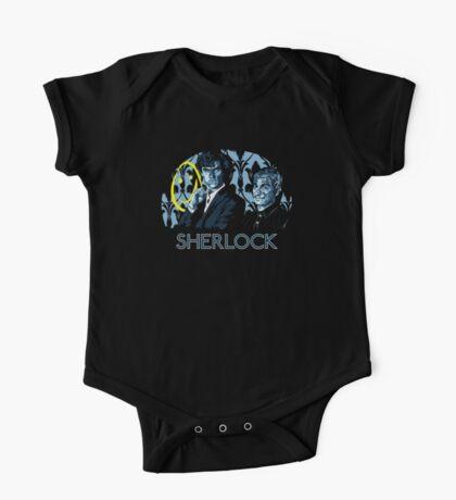 Sherlock - A Study in Blue One Piece - Short Sleeve