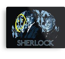Sherlock - A Study in Blue Metal Print