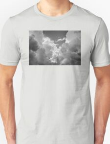 Black And white Sky With Dramatic Storm Clouds T-Shirt