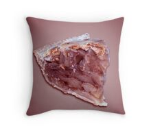 Piece of pie for desert Throw Pillow