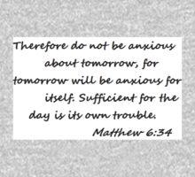 Matthew 6:34 Kids Tee