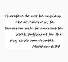 Matthew 6:34 Kids Clothes