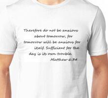 Matthew 6:34 Unisex T-Shirt