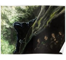 Lord of the Rings Speed Paint Digital Painting Poster