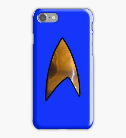 Star Trek blue iphone iPhone Case/Skin