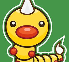 Weedle by Eat Sleep Poke Repeat