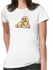 Cocker Spaniel Womens Fitted T-Shirt