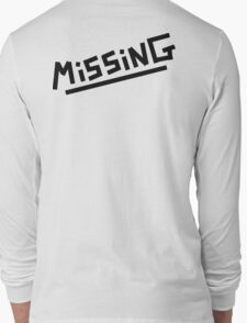 Arctic Monkeys - Missing Long Sleeve T-Shirt
