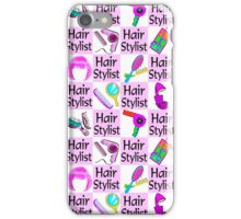 AWESOME HAIR STYLIST iPhone Case/Skin