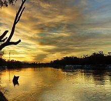 Murray River Sunset - Mildura, Victoria by PC1134