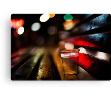 fiesta of the night  Canvas Print