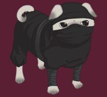 Ninja Pug   Unisex T-Shirt