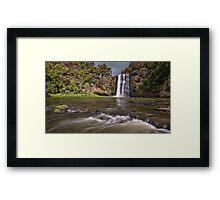 Hunua Falls Framed Print