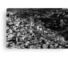 mountains of jerusalem Canvas Print