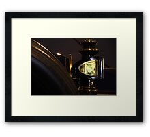 Coach Light Framed Print