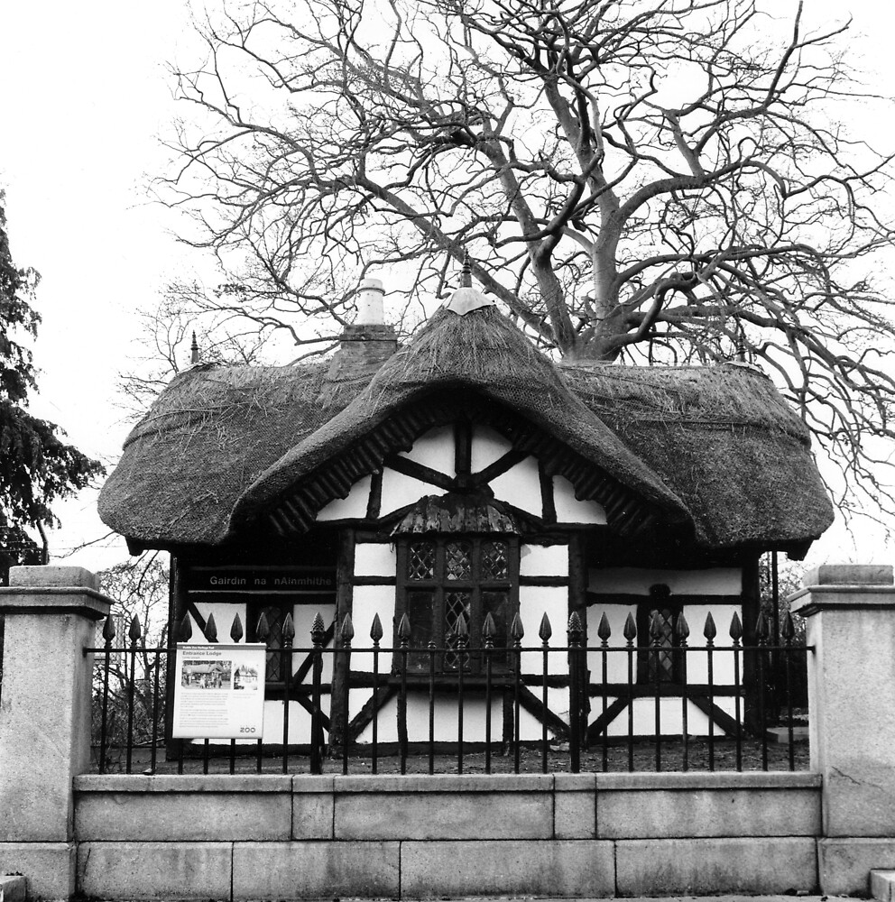 Old Zoo Entrance, Phoenix Park by Dave  Kennedy