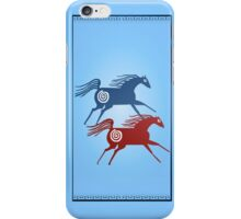 Two Ancient Horses iPhone Case/Skin