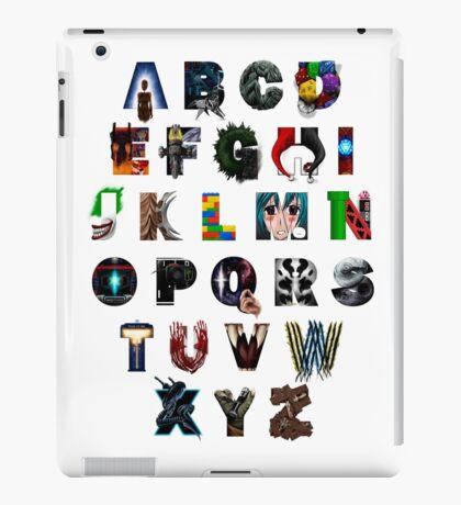 Geek's Alphabet iPad Case/Skin