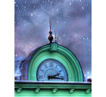 Bank Clock Photographic Print