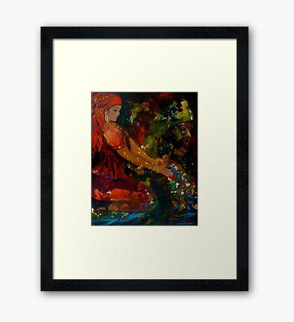 Ancestral Offerings Framed Print