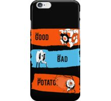 The Good The bad The Potato iPhone Case/Skin