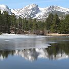 Rocky Mountain National Park at Sprague Lake by Christine Ford