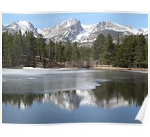 Rocky Mountain National Park at Sprague Lake Poster