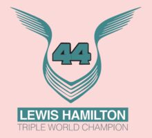 Lewis Hamilton Triple World Champion (teal) One Piece - Long Sleeve