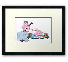 Swan Bride's  Song Framed Print