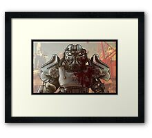 Brotherhood of Steel and Blood Framed Print