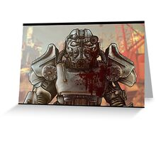 Brotherhood of Steel and Blood Greeting Card