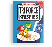 Tri Force Krispies Metal Print