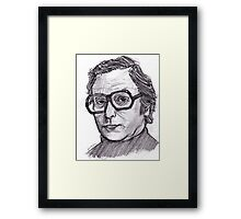 Michael Caine Framed Print