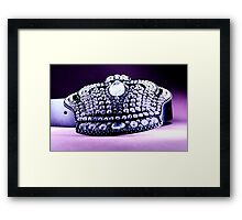 Crown Belt Framed Print