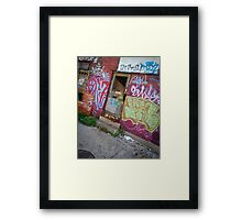 door (project: desolate) Framed Print