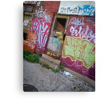 door (project: desolate) Canvas Print