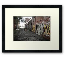 alley (project: desolate) Framed Print