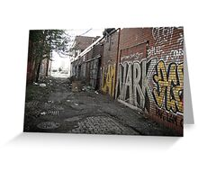 alley (project: desolate) Greeting Card