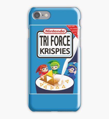Tri Force Krispies iPhone Case/Skin