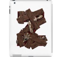 Geek letter Z iPad Case/Skin