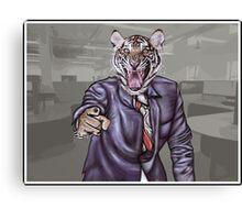 Tiger Boss Canvas Print