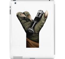 Geek letter Y iPad Case/Skin