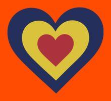 Romania Heart Kids Tee