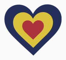 Romania Heart by Maria Bell