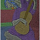 Picasso's Old Blind Guitarist by CultureCloth