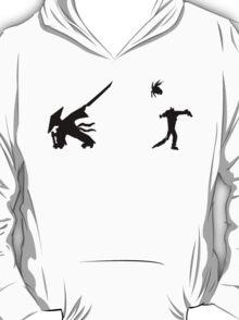 Samurai Versus Zombie - Silhouette T-Shirt