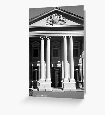 Supreme Court Perth Greeting Card