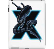 Geek letter X iPad Case/Skin