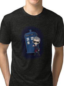 Twelfth Doctor ; Rock'n'Roll Tri-blend T-Shirt