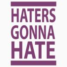 HATERS GONNA HATE by 1453k